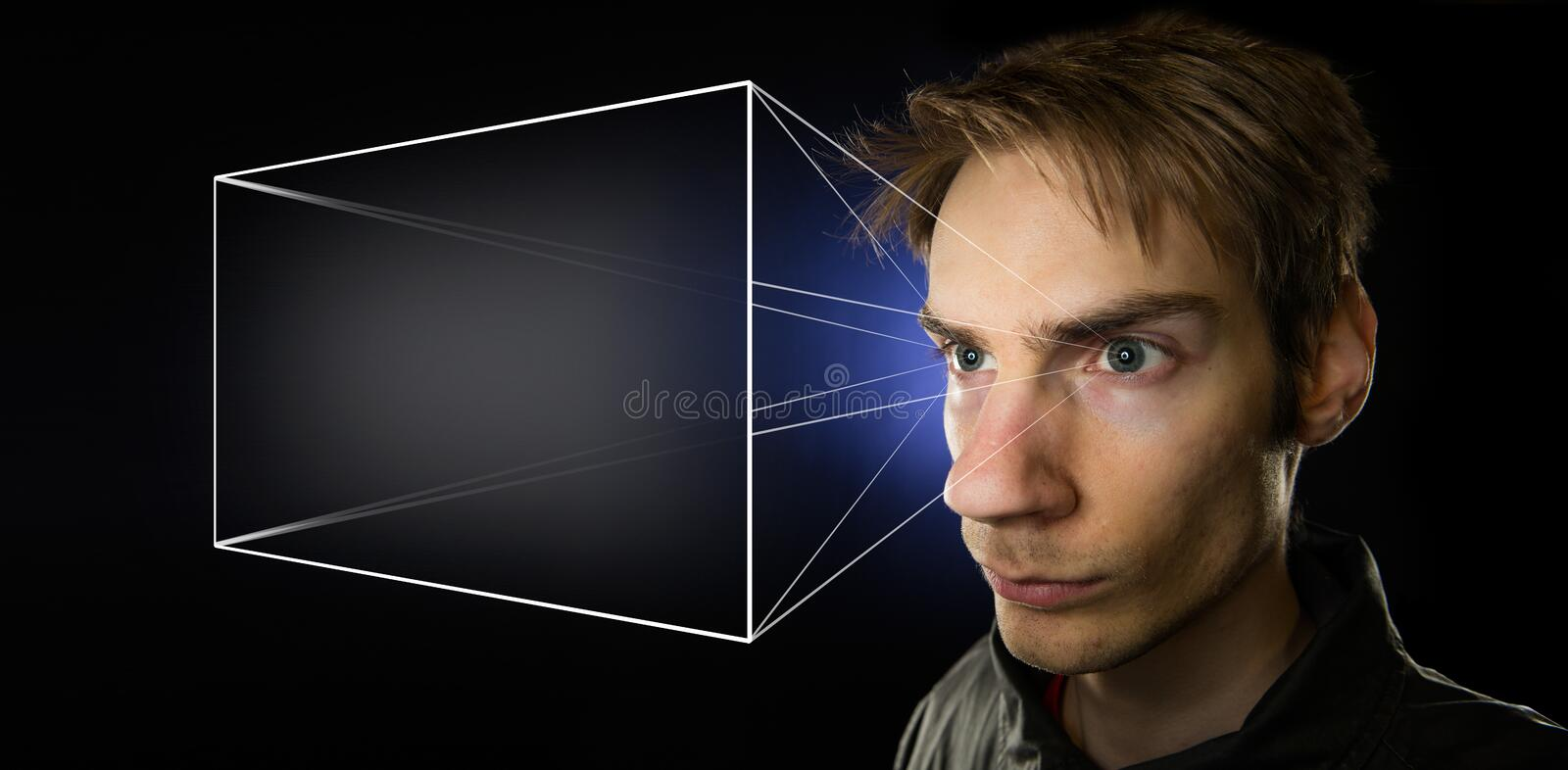 Holographic Universe stock photos