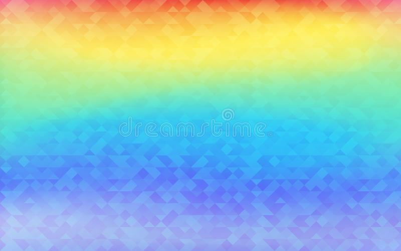Holographic Vector Background. Iridescent Foil. Glitch Hologram. Pastel neon rainbow. Ultraviolet metallic paper. Template for pre. Sentation. Cover to web vector illustration