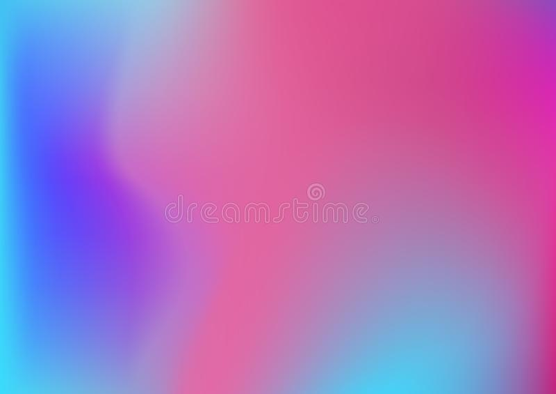 Holographica który pracuje wielkiego gdy tła dla oznakować projekty, pakować, plakatów i mężczyzna, jest holograficzne gradient t ilustracji
