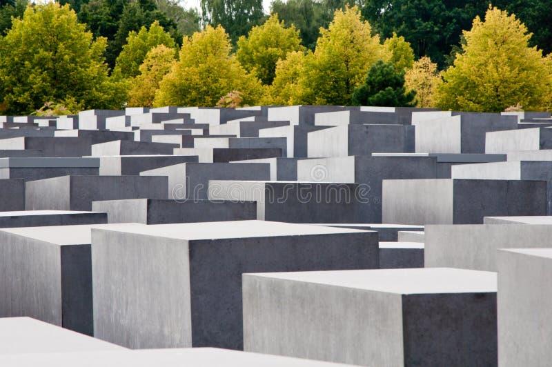 Holokausta Pomnik, Berlin, Niemcy. obrazy stock