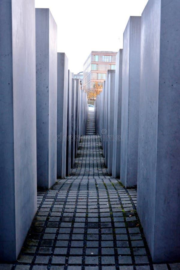 Holokausta pomnik w Berlin, Niemcy zdjęcia royalty free
