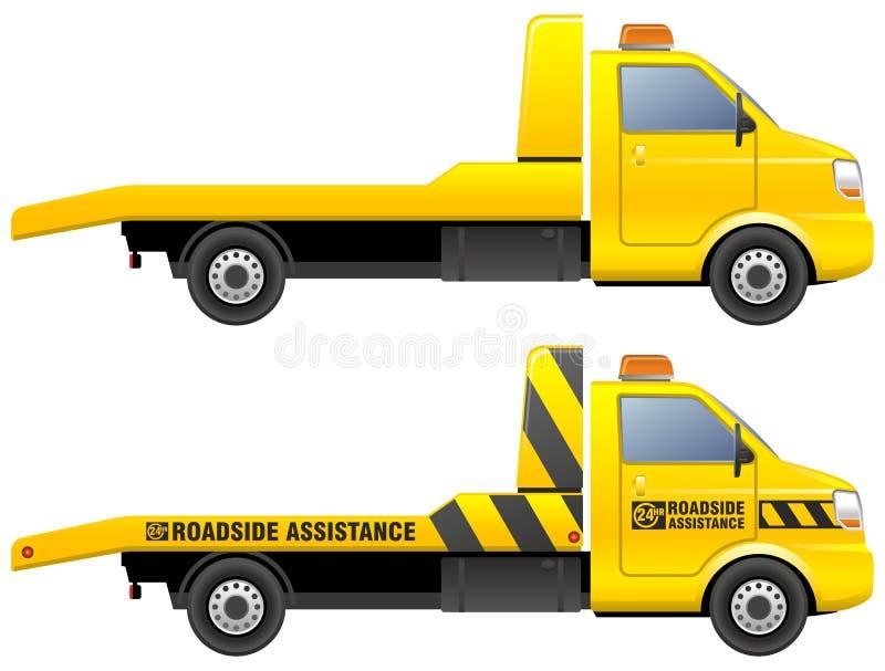 holownicza ciężarówka royalty ilustracja