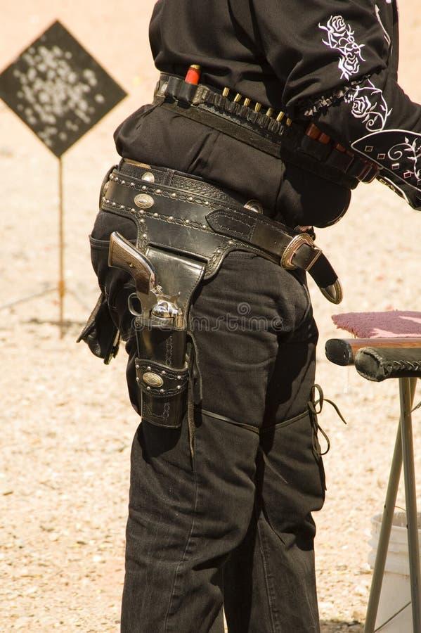 holster för 2 tryckspruta royaltyfri foto