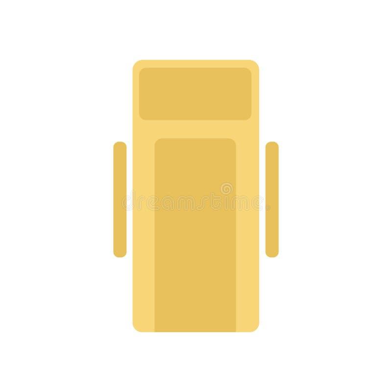 Holu krzesła ikony wektoru znak i symbol odizolowywający na białym backg ilustracja wektor