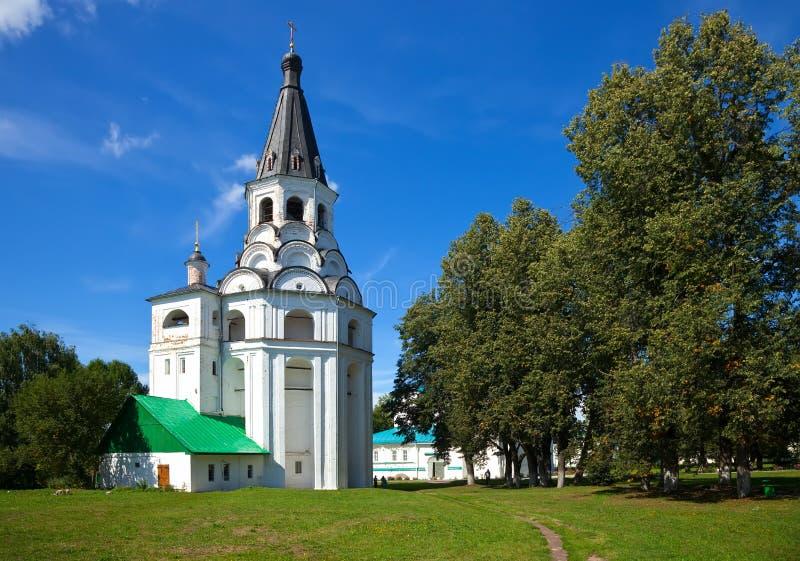 Holy Assumption Monastery, Aleksandrov royalty free stock images