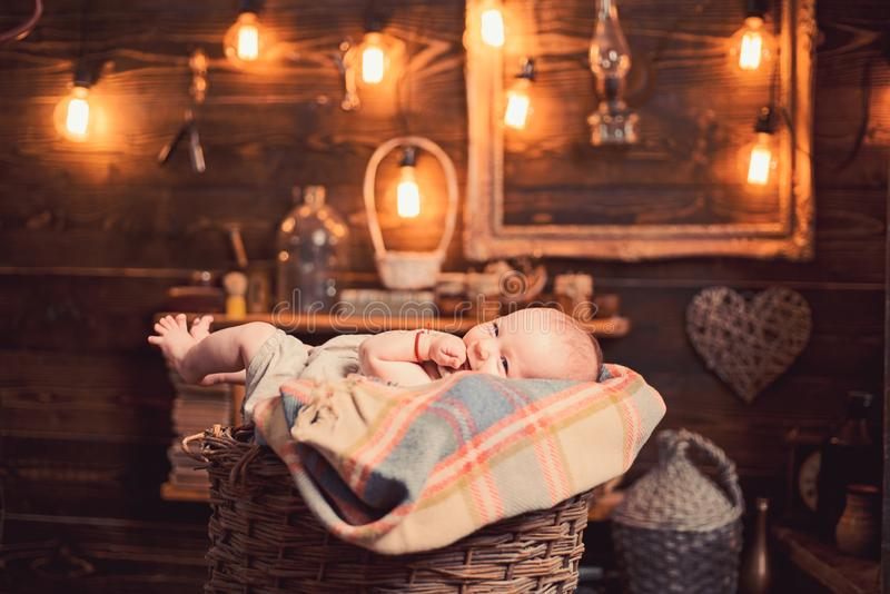 Holy baby. Small girl with cute face. parenting. Family. Child care. Childrens day. Childhood and happiness. Sweet royalty free stock image