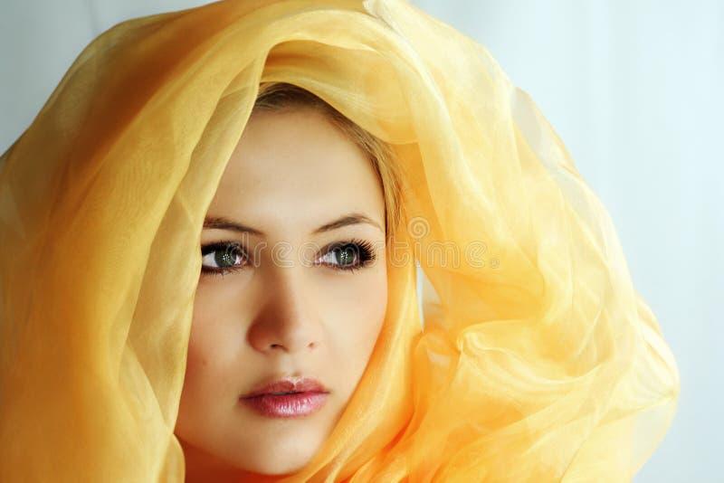 A holy beauty royalty free stock photos
