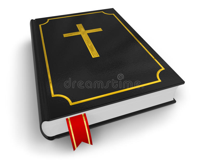 Download Holy Bible stock illustration. Image of bible, book, baptism - 11681672
