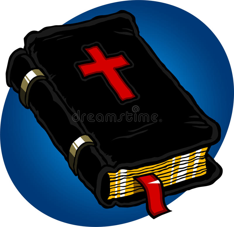 Download Holy Bible stock illustration. Illustration of library - 16060842