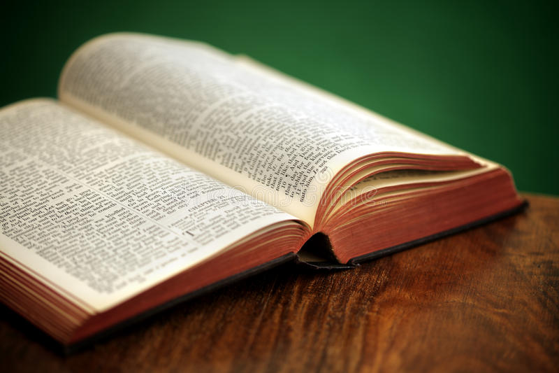 Holy Bible royalty free stock photos