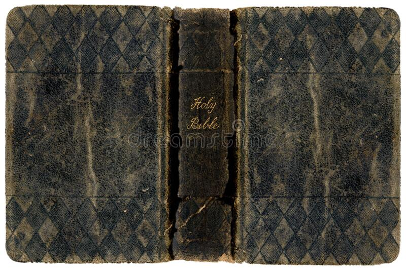 Holy Bible hardcover. A close up of the Holy Bible hardcover stock photos