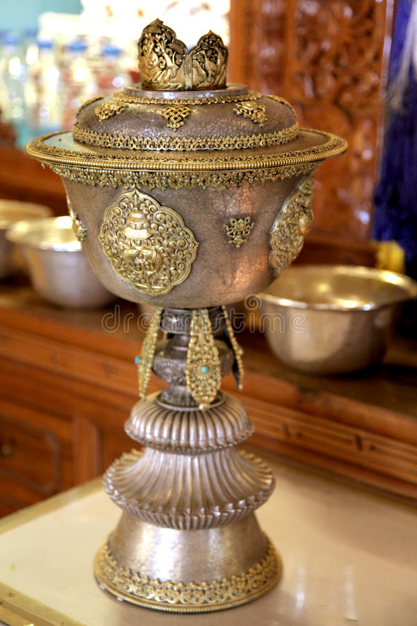 Download Holy Buddhist Pot Royalty Free Stock Photography - Image: 24438147