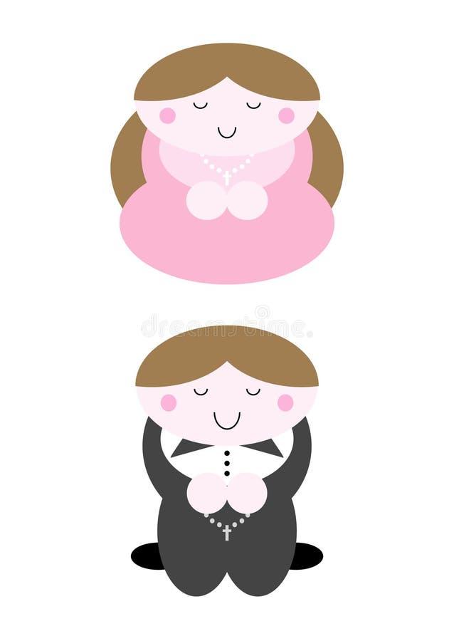 Holy Communion vector illustration