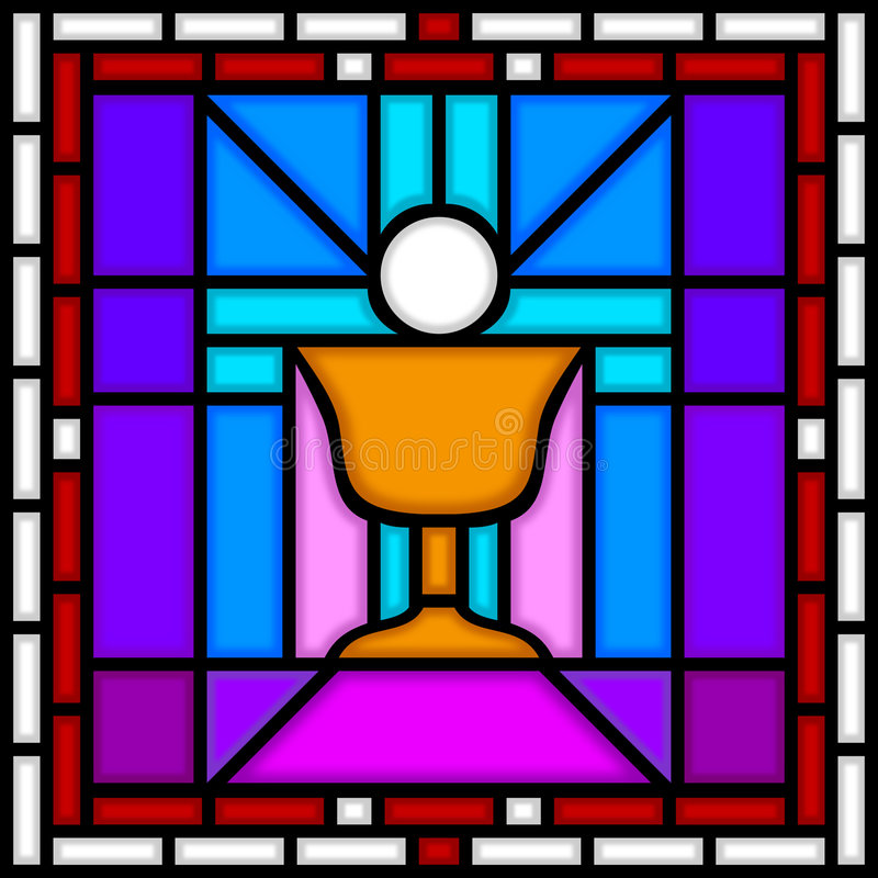 Holy Communion Chalice vector illustration