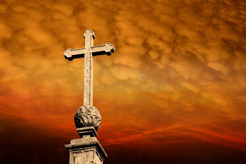 Holy cross royalty free stock image