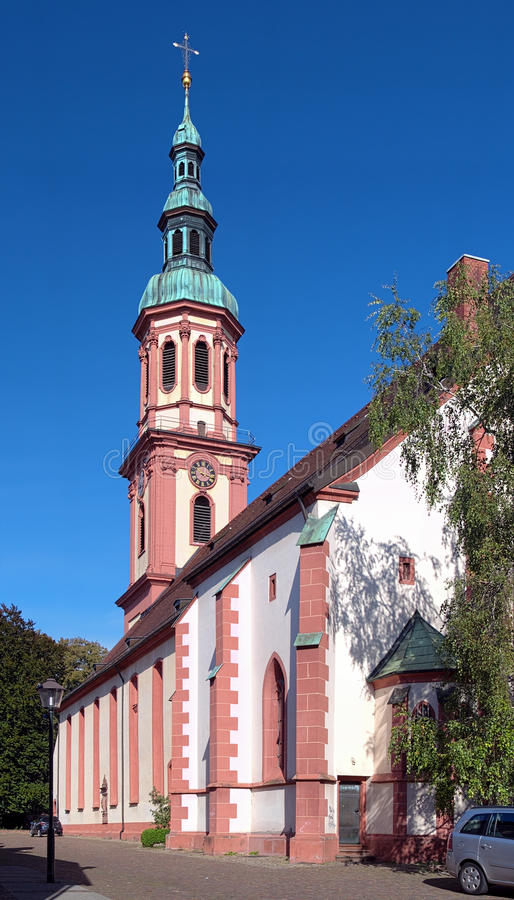 Download Holy Cross Church In Offenburg, Germany Stock Image - Image: 27135989