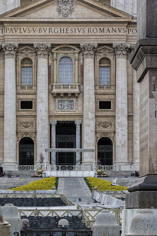 Holy Door Of The Vatican City Stock Photo