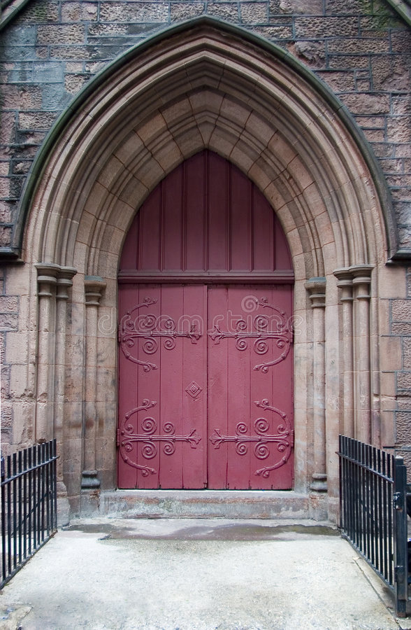Holy Doorway royalty free stock images