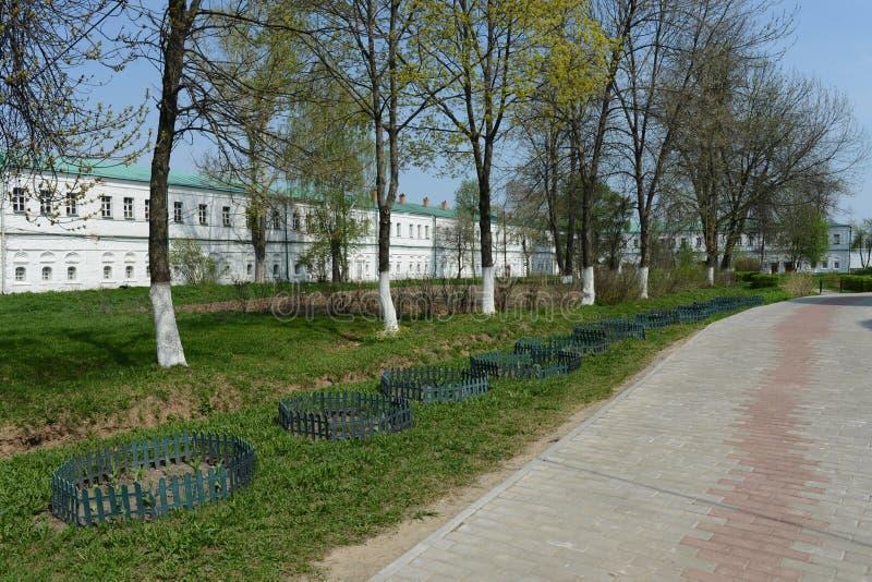 The Holy Dormition monastery, Aleksandrov, Russia royalty free stock image