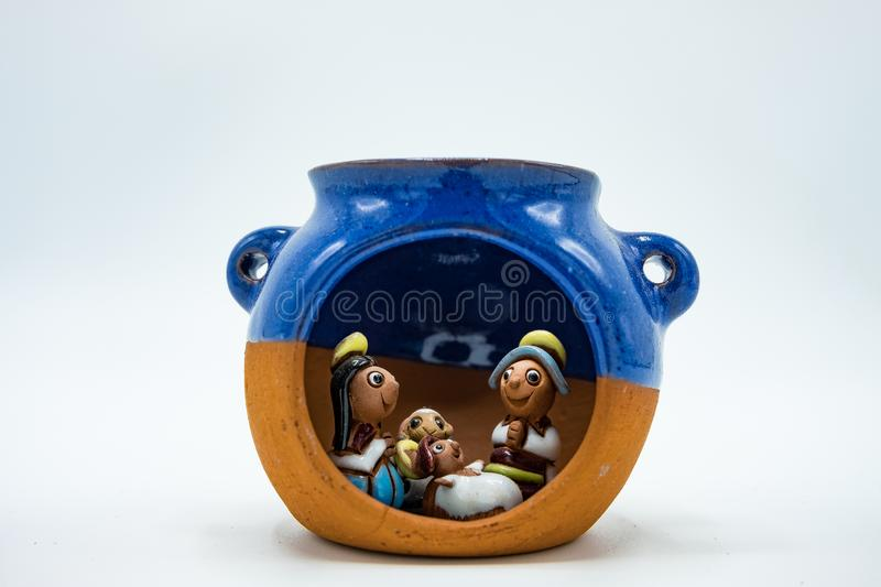 The holy family, Child Jesus, the Virgin Mary, Saint Joseph in a royalty free stock photography