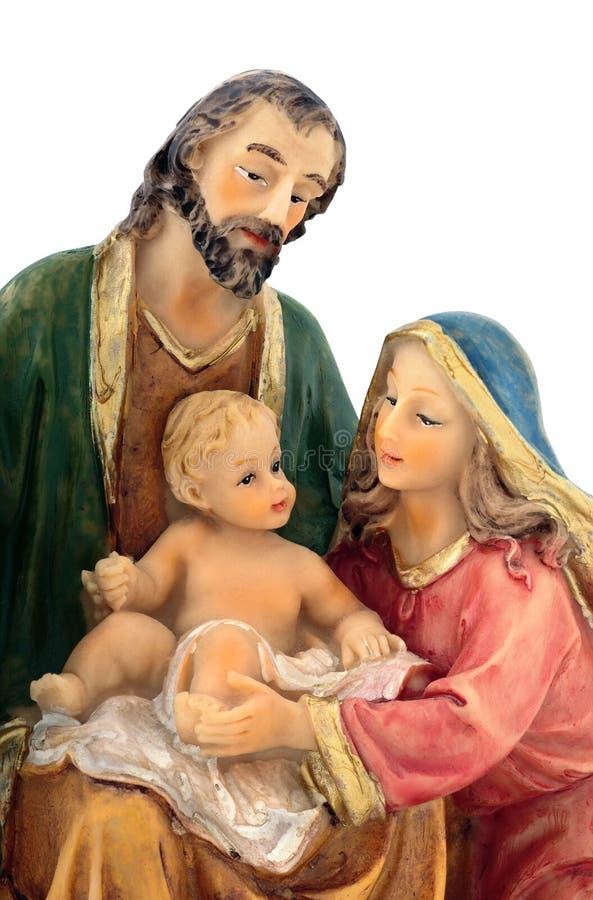 Holy Family closeup royalty free stock photo