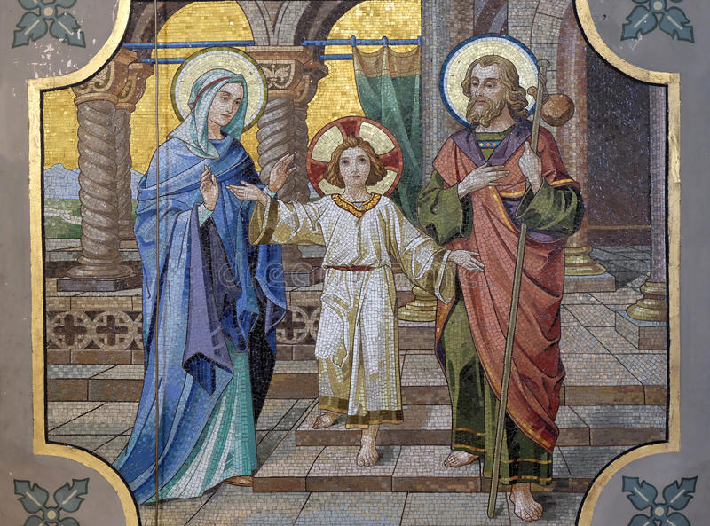 Holy Family royalty free stock images