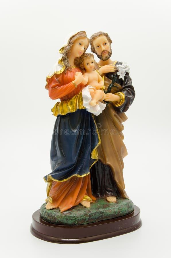 Holy family stock photography