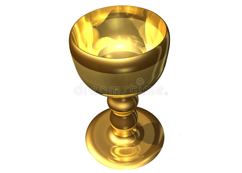 Holy grail royalty free illustration