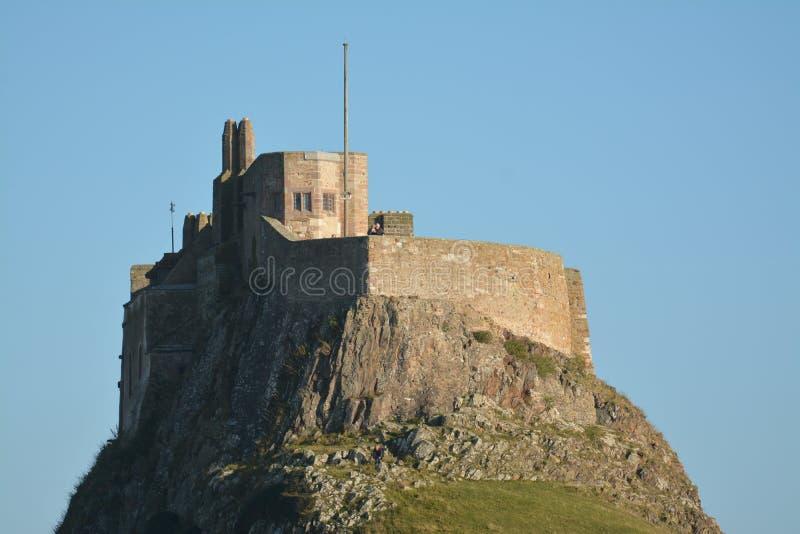 `Holy Island`, Lindisfarne Northumberland. Historic site royalty free stock photos