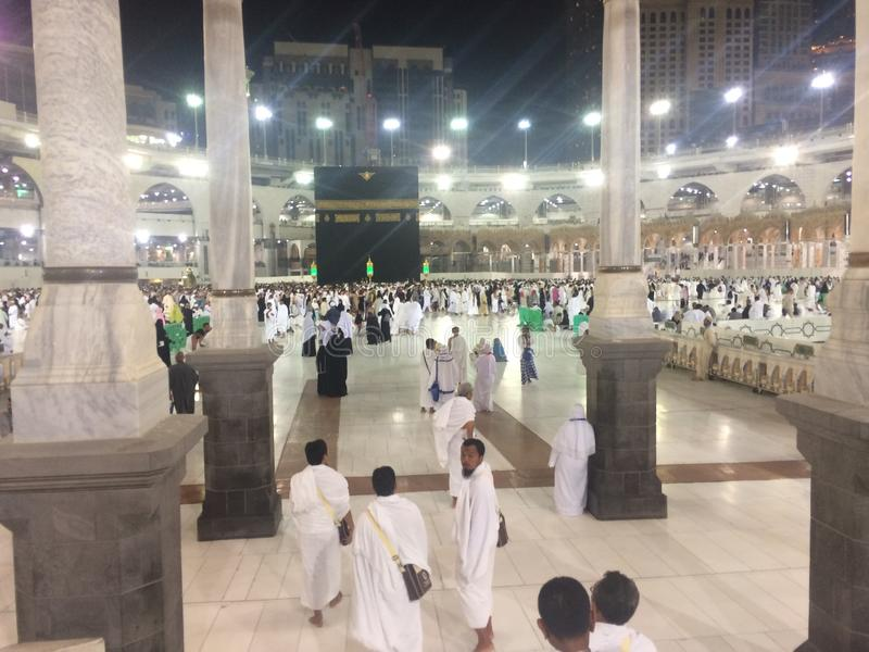 The holy Kabah stock photo