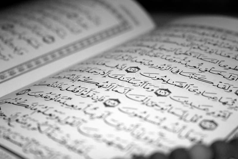 Holy Koran stock photography