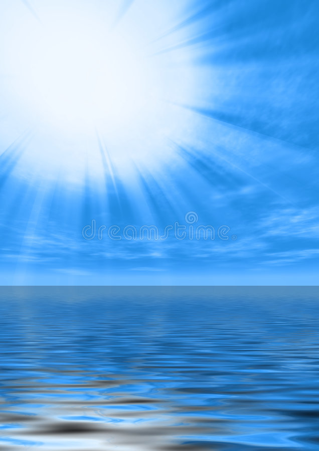 Free Holy Light In Calm Water Royalty Free Stock Image - 6360926