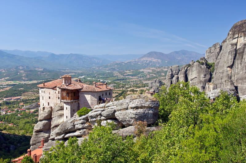 Download The Holy Monastery Of Rousanou. Meteora. Royalty Free Stock Images - Image: 23168089