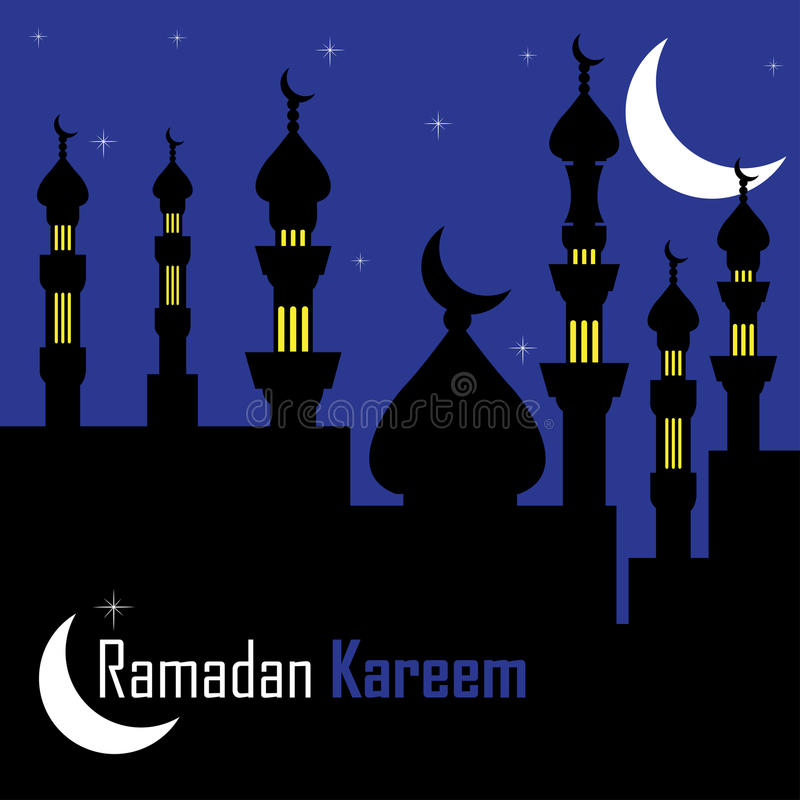 Download Holy month of Ramadan stock vector. Illustration of abstract - 19667658