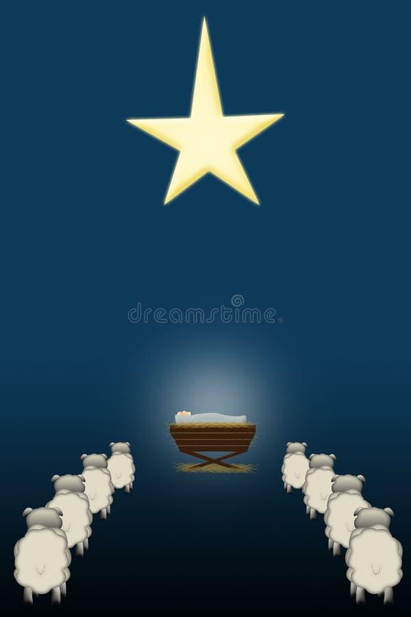 Download Holy Night stock illustration. Image of wonder, child - 1402607