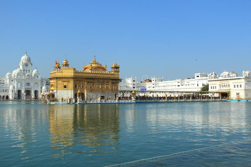 Holy place of sikh religion in Amritsar royalty free stock photo