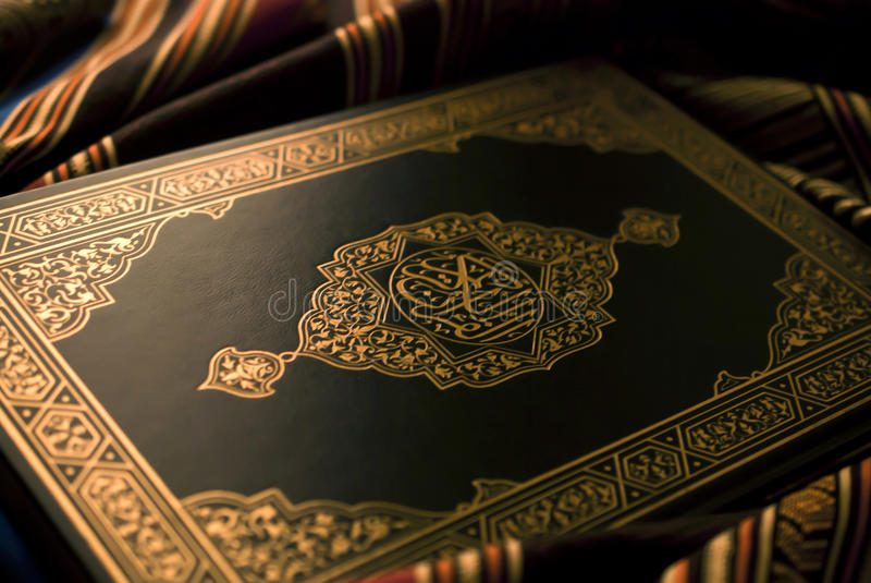 Download The holy Quran stock image. Image of book, antique, arab - 26951885