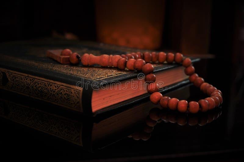 holy quran tasbih rosary beads blur background holy quran tasbih rosary beads 129995849