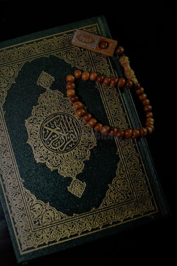 holy quran tasbih rosary beads holy quran tasbih rosary beads blur background 129999054