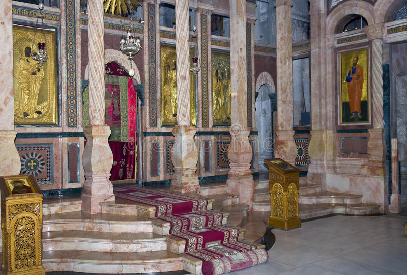 Download Holy sepulcher stock image. Image of midle, cross, basilica - 25162487