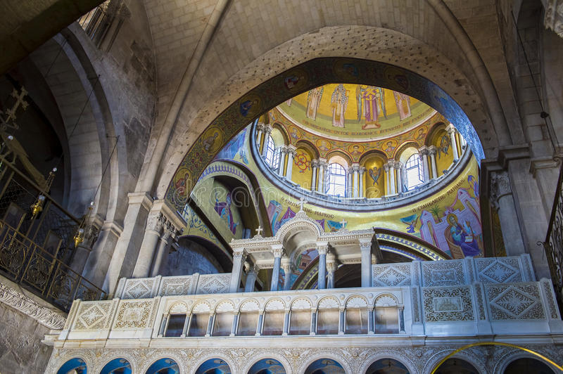 Holy sepulcher stock image