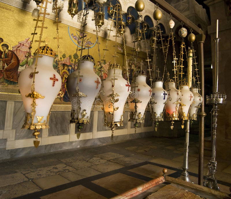 Holy Sepulchre royalty free stock photo