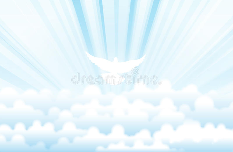 Holy Spirit royalty free illustration