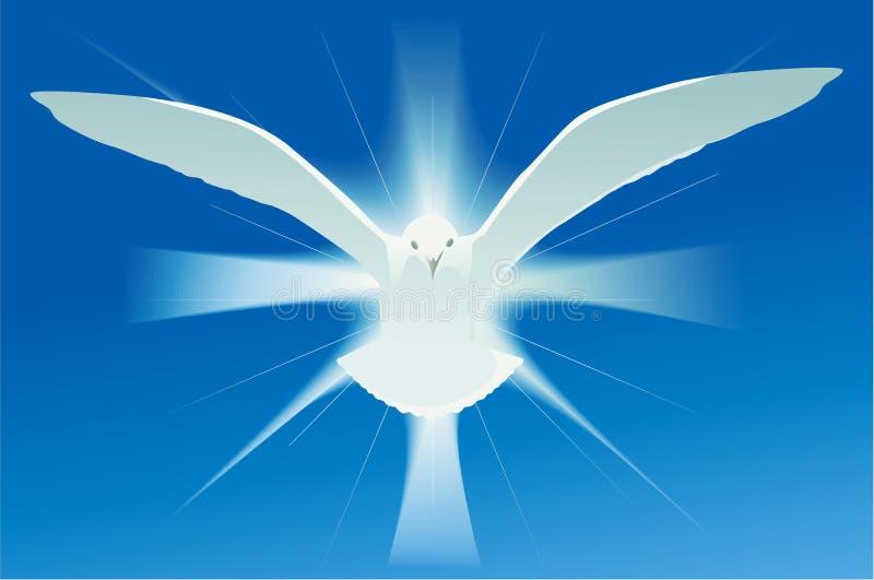 Holy Spirit Symbol Stock Vector. Illustration Of Halo