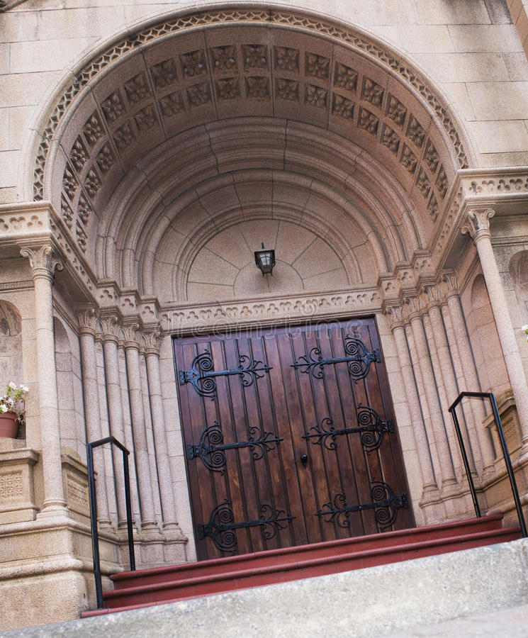 Download Holy Trinity Catholic Church - Door Stock Photo - Image: 11710920