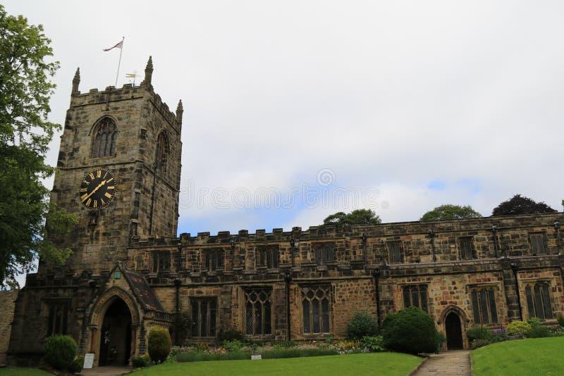 Holy Trinity Church, Skipton.  royalty free stock photography