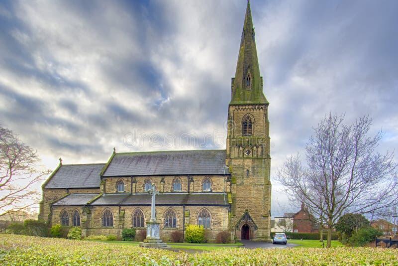 Holy Trinity Church stock photo