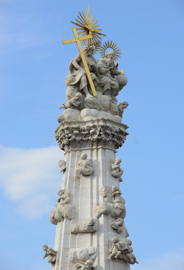 Download Holy trinity column stock photo. Image of saint, statue - 28502890