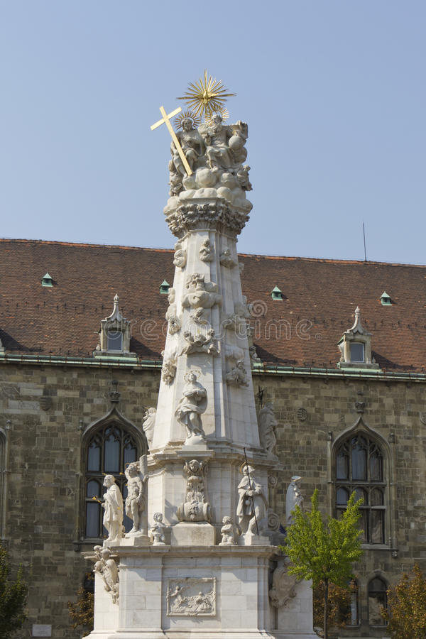 Download Holy Trinity Column In Budapest, Hungary Stock Image - Image of christianity, heritage: 23875485