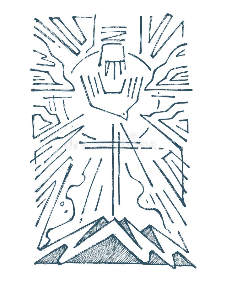 https://thumbs.dreamstime.com/b/holy-trinity-hand-drawn-illustration-drawing-religious-symbol-73824120.jpg